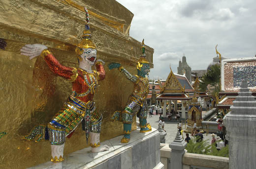 Guardian demons, Grand Palace, Bangkok