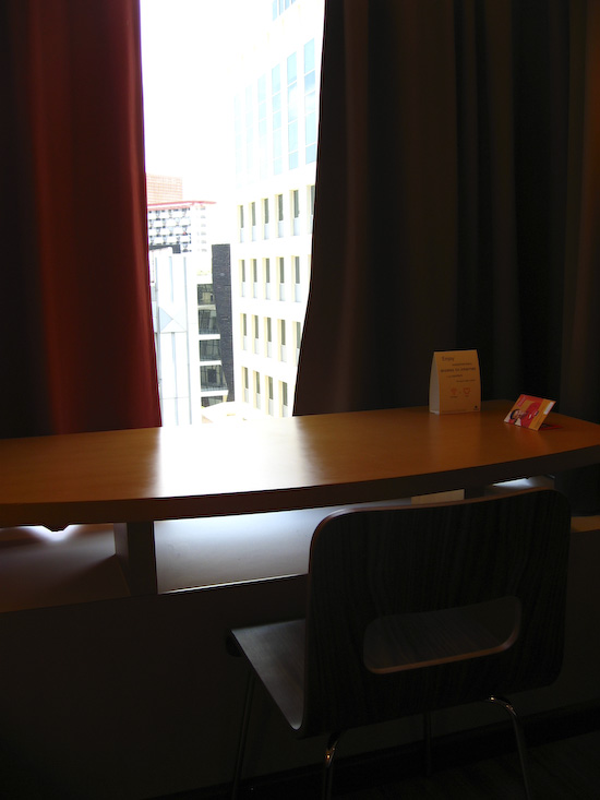 Ibis Singapore Hotel Room Desk And View