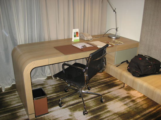 Crowne Plaza Singapore Airport Hotel Desk