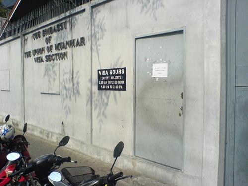 Myanmar Embassy, Bangkok