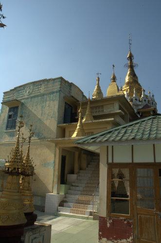 Courtyard, Mount Popa, Myanmar