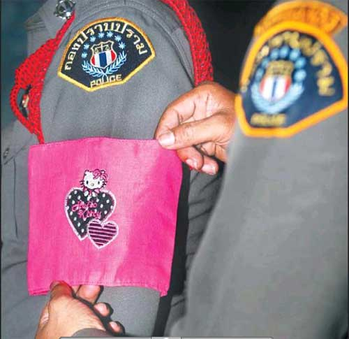 Bangkok Post Hello Kitty Thai Police