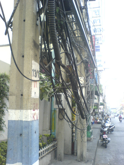 Clearly Obvious Cables Of Electro Death