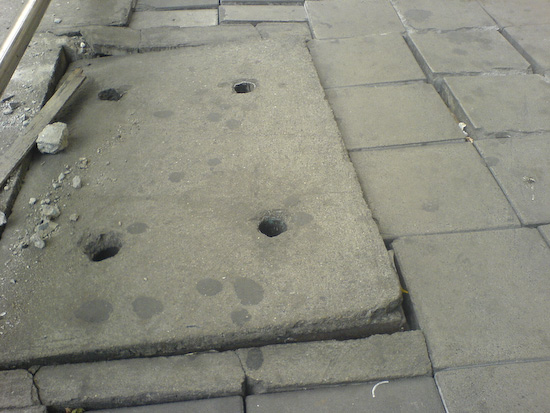 """The """"Descent Into Hades"""" Loose Manhole Cover"""