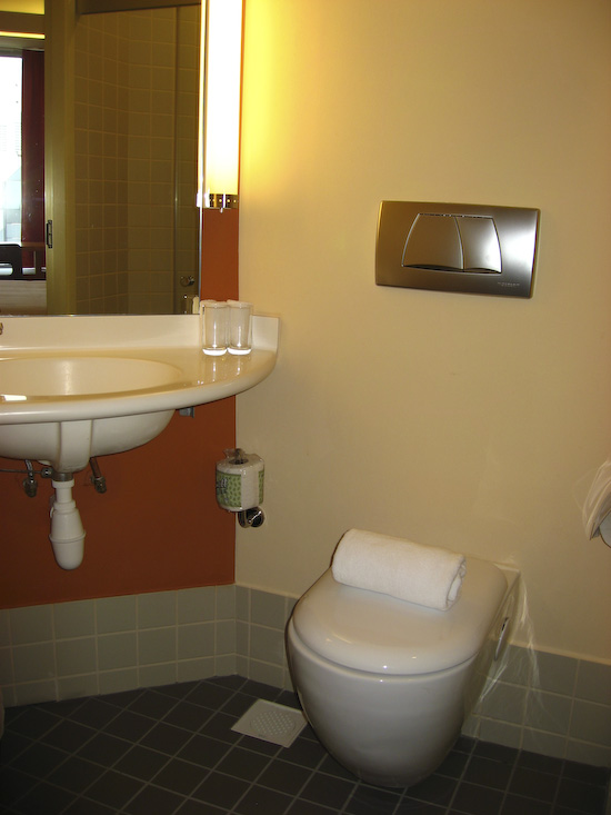 Ibis Singapore Hotel Room Toilet