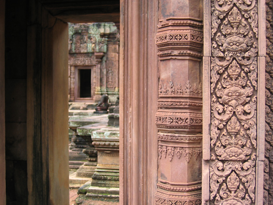 Banteay Srei Temple, Angkor, Cambodia