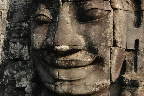 Face Of Jayavarman VII, Bayon Temple, Angkor, Cambodia