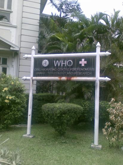 Thai Red Cross Centre, Bangkok