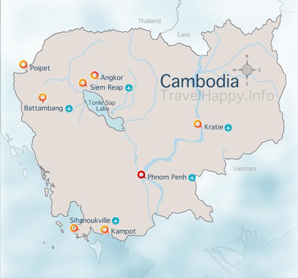 Cambodia Map on el salvador map, syria map, indochina map, chad map, city map, burma map, phillipines map, china map, cameroon map, congo map, west indies map, bangladesh map, africa map, korea map, qatar map, burundi map, martinique map, europe map, japan map, benin map, da nang map, bulgaria map, bhutan map, pacific islands map, east timor map, eritrea map,