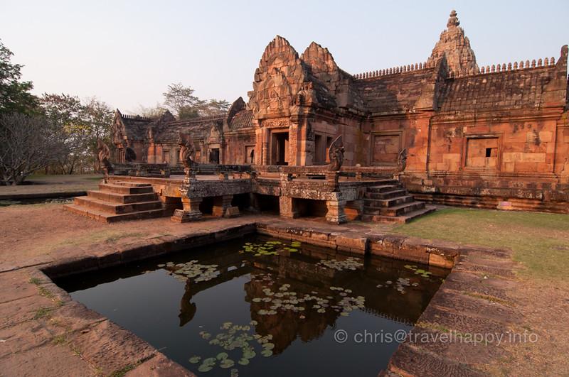 Phanom Rung Temple At Sunrise