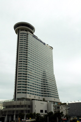 The real Bangkok Hilton (known as the Millennium Hilton)